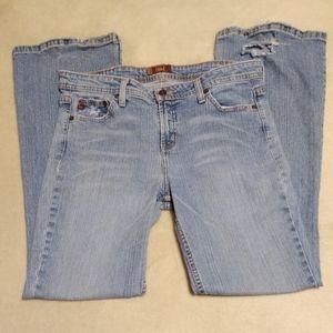 Distressed Bootcut l.e.i Jeans